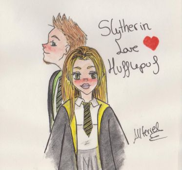 Slytherin love Hufflepuff by Allteriel