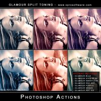 Glamour Split Toning Pro Pack by andreat1508