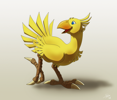 Chocobo by EastCoastCanuck