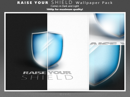 Raise Your SHIELD Wallpaper Pack by Zedj