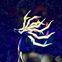 Xerneas by 23111997marialouise