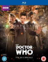 Doctor Who Blu Ray Cover - 2013 Specials by willbrooks