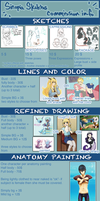 Commission sheet by OOT-Link