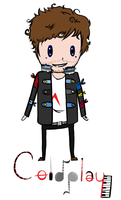 Chris Martin Chibi by ColdplayKeyboard