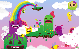 Monsterland wallpaper by Cute-twins