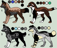 Canine Adopts -TAKEN- by Rainy-Adopts