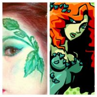 Poison Ivy Inspired Makeup by KLRainbow