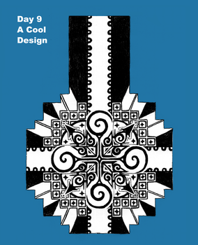 Day 9- A Cool Pattern or Design by ilenosirrah