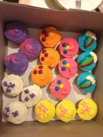 MLP Cupcakes by ManderFFA