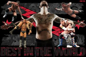 CM Punk Wallpaper by deviantfafnir