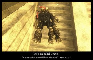 Two-headed Brute by compositecoyote