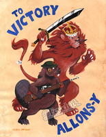 TO VICTORY! ALLONS-Y! by Eevachu