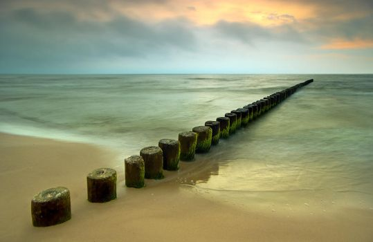 Breakwater by white-white