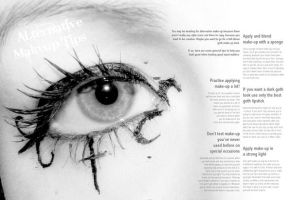 EFFIT magazine - Makeup Spread by elphin-art