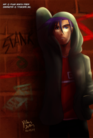 RC9GN: Hoodie Randy by witch-girl-pilar