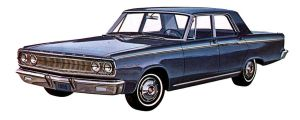 After the age of chrome and fins : 1965 Dodge II by Peterhoff3