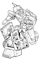Transformers Tattoo Design by glovestudios