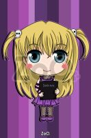 Misa - Death Note by EstudioZoo