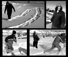 Snowball Fight by tallerthanoursouls