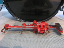 Lego Modified B-Wing Fighter 1 by InDeepSchit