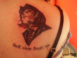 You'll Never Break Me Tattoo by emochan45