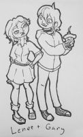 Lenee and Gary by UneasySilence