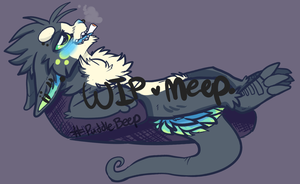 #Puddlebeep WIP by MystikMeep