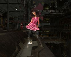 Opto-cam tights by otherunicorn