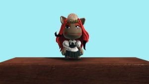 Lbp2 Coustme Request:Maid Zoroark by toamac