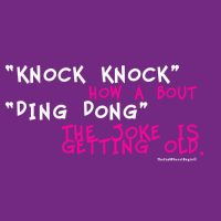 Knock Knock Jokes Are Old by TheEndWhereIBegin