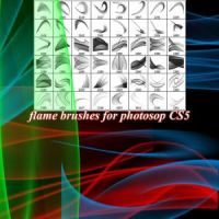 Flame Brushes by photoshopcs8