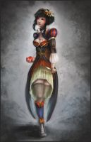 Steampunk Snow White by SweetLhuna