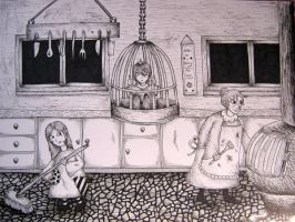 Hansel and Gretel Board 3 by BeckyHolly