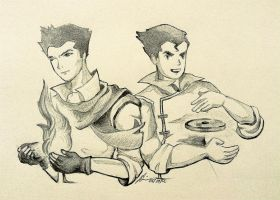 Mako and Bolin by dropeverythingnow