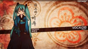 Hatsune Miku Korean version by wingster
