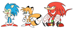 sonic redesigns by 8Xenon8