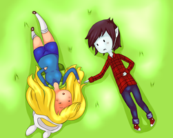 FioLee Adventure Time Nap Time by AiNim