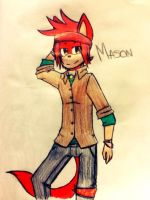 Mason the jackal Just gift by ElixChan