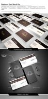 Photo Realistic / Business Card / Mock-Up by calwincalwin