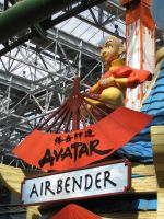 Avatar Airbender Entrance 1 by FigmentJedi