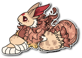 Willow Page Sticker - Commission No. 12 -1- (2013) by WhatTheFoxBecca