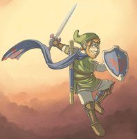 Hyrule Warrior by pkstarst0rm