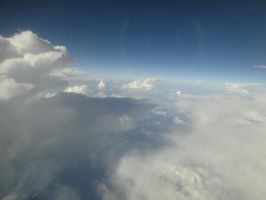 Cloud from plane 2 by Barghest1031