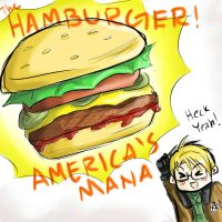 Hamburgers by one-who-draws