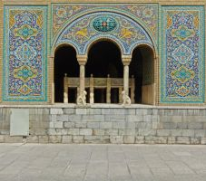 Persian Architecture 05 - Arches by fuguestock