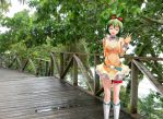 Gumi on the boardwalk by Prymal626