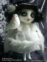 winter white lyllionia doll by Posiez