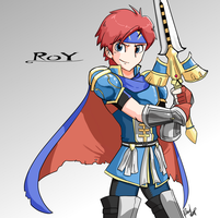 Roy! by Pencil-snap