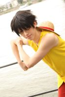 Monkey D. Luffy by Itakoo