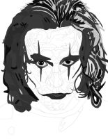 The Crow Pen (Brandon Lee) work 2 by daylover1313